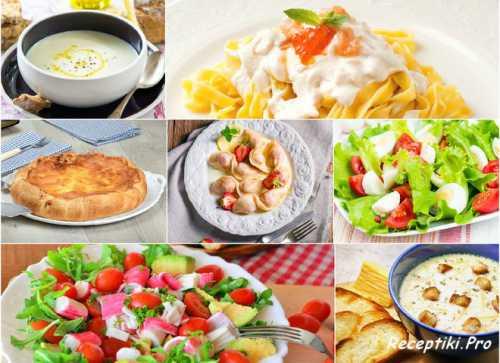 7 ужинов: вкусное меню на неделю