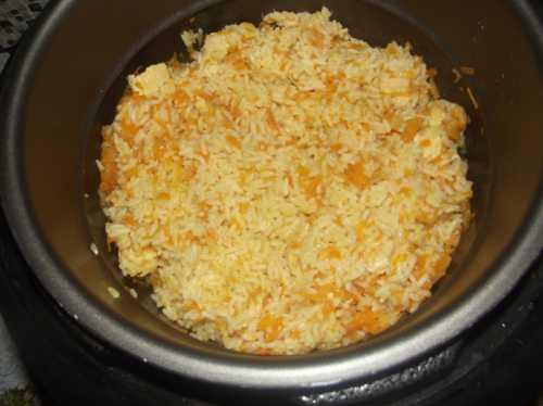 Рис в скороварке