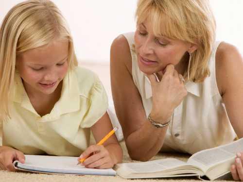 Делаем уроки с ребенком правильно