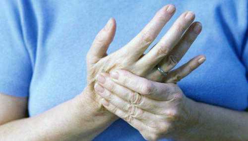 Онемение пальцев рук