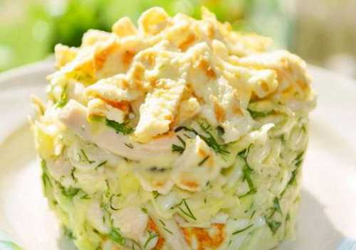 Рецепты салатов с яйцом и майонезом: секреты