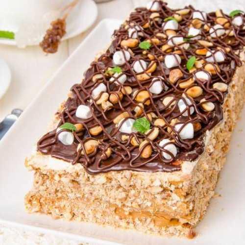 Рецепты торта Воздушный сникерс: секреты выбора