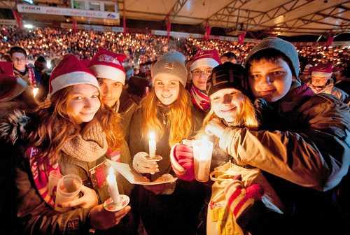 Как празднуют Рождество католики