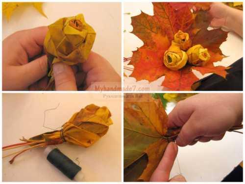 Лесная полянка сучки, пенечки, листочки, прутики, изображающие деревья, шалашик из прутиков