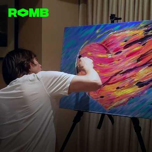 Джим Керри борется с депрессией при помощи живописи