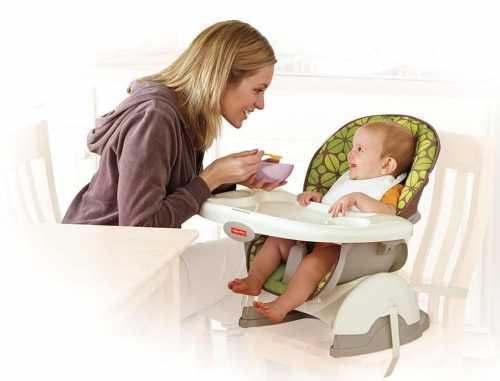Выбор стульчика для кормления: когда, какой и для чего
