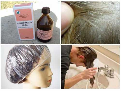 Чемеричная вода для волос