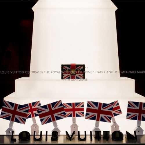 Louis Vuitton выпустил коллекцию в честь свадьбы принца Гарри и Меган Маркл
