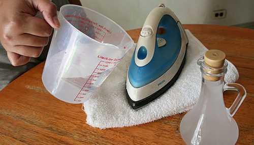 Как почистить утюг от накипи
