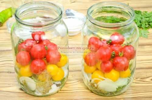 Рецепт помидоров черри на зиму, секреты выбора
