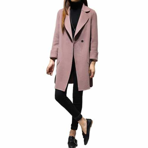 Женское пальто, способ выбора